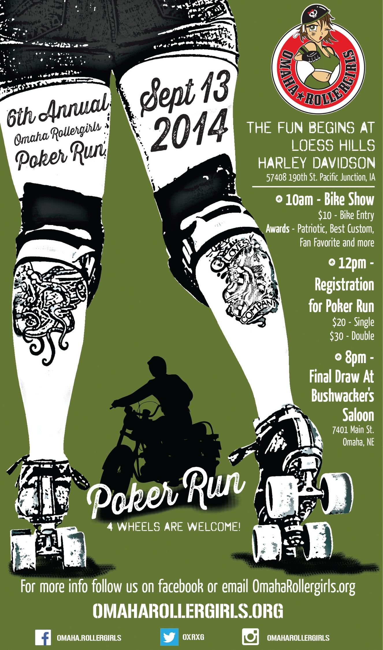 Hollister poker run 2014
