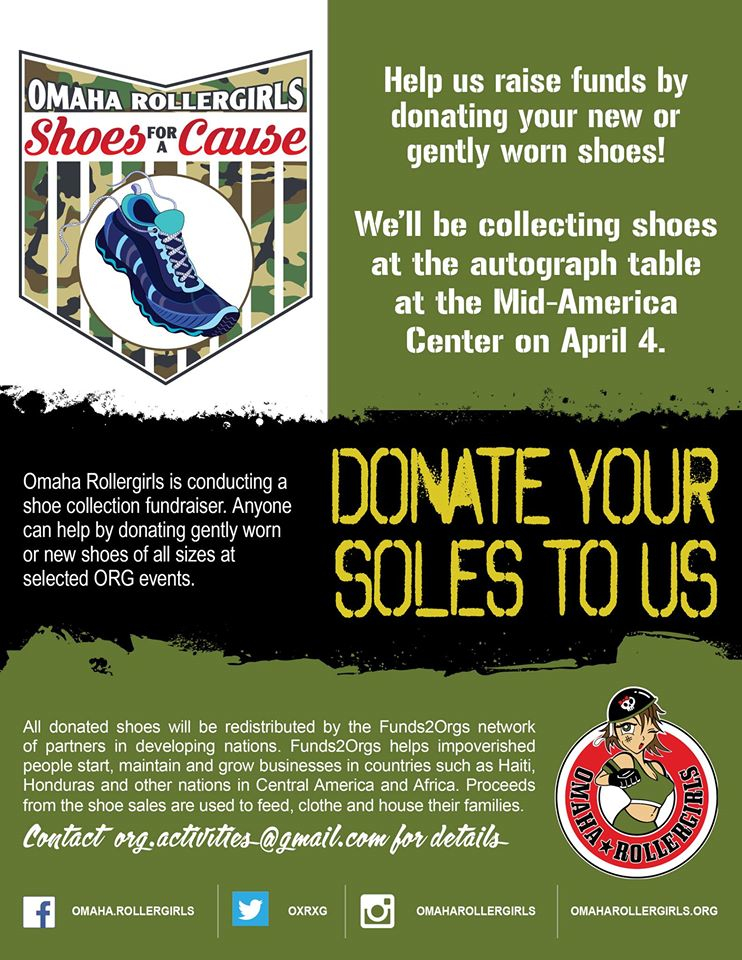 Donate your soles